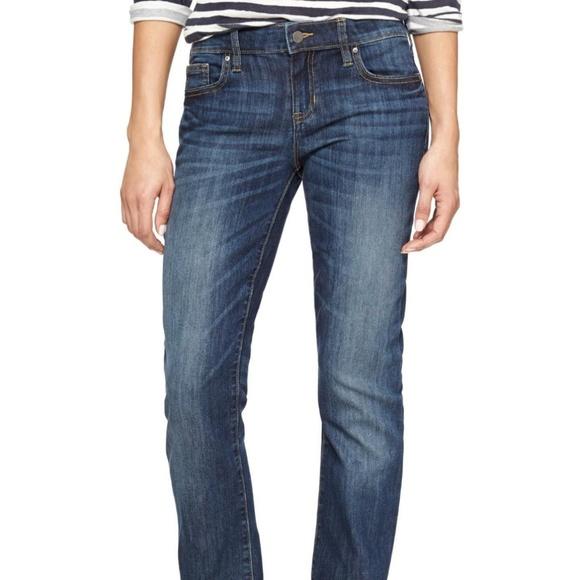 GAP Pants - Gap real straight Jean's